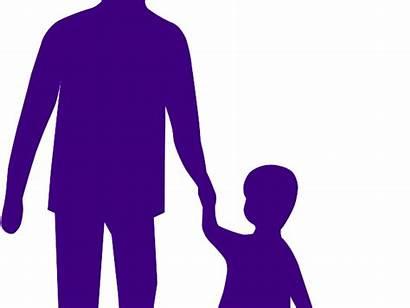 Adult Clipart Holding Child Hands Purple Svg