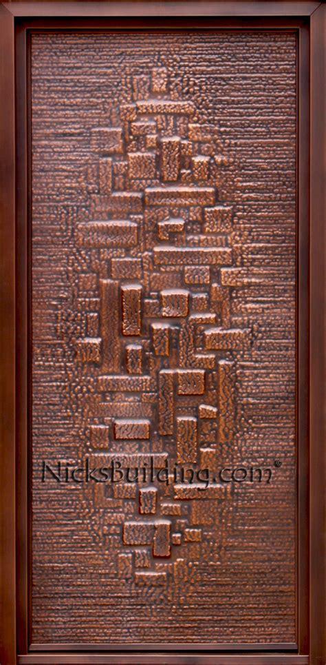 copper doors exterior outside inside mahogany nicksbuilding