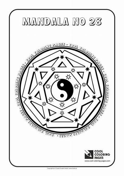 Mandala Cool Mandalas Coloring Pages Educational