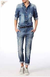 Combinaison Pantalon Femme Bleu Marine : combinaison pantalon en jean us riri only mode femme pinterest combinaison pantalon bleu ~ Dallasstarsshop.com Idées de Décoration