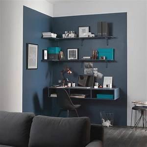 bureau gain de place marie claire With quelle couleur de peinture pour un couloir 4 8 idees design pour decorer les murs de vos bureaux