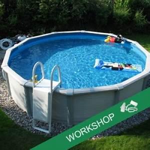 Schwimmbad Selber Bauen : workshop schwimmbad kreta oval selber bauen ~ Markanthonyermac.com Haus und Dekorationen