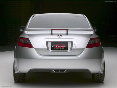 Honda Civic Si Concept Picture 08 Of 11 My 2003 Size