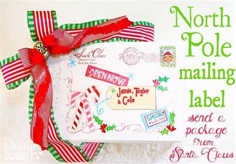 north pole special delivery printable  santa