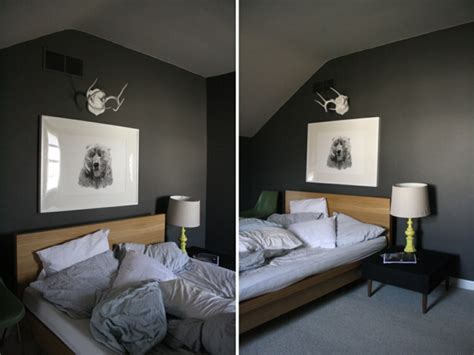 Anthrazit Farbe Wand by Wandfarbe Grau Im Schlafzimmer 77 Gestaltungsideen