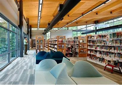 Library Community Architizer Leesville Strip