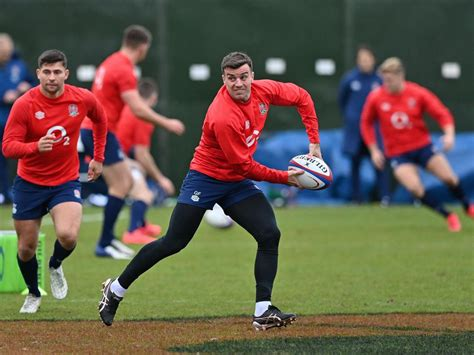 George Ford named on England bench for Nations Cup tie ...