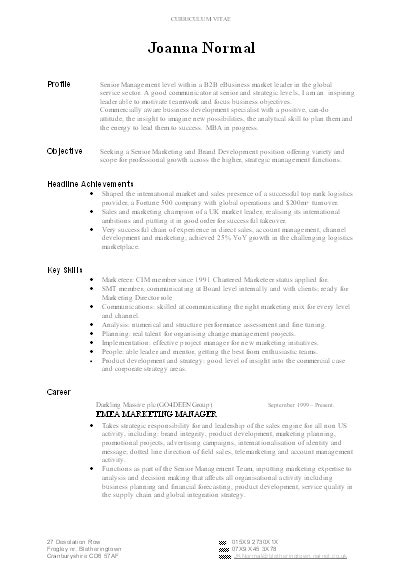 Resume Writing Template by Cv Writing Advice Write The Best Possible Cv With Free