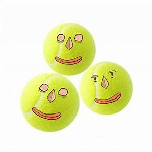 face, tennis, balls, smiley, us open – Monster GIF