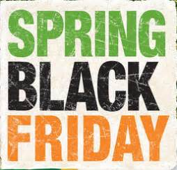 spring black friday ad  home depot  living rich
