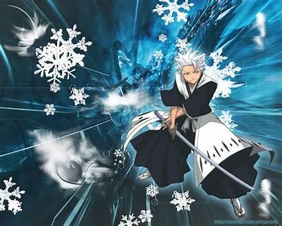 Bleach Hitsugaya Wallpapers Anime Toshiro Bankai Manga