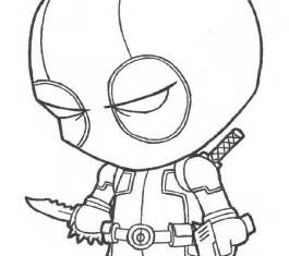 Deadpool Coloring Pages Printable Free