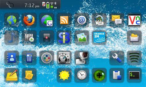 comment changer les icones du bureau astuce nokia n900 enlever les ombres des icones sur le