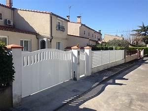 Portail De Maison : photos de portail de maison et cl tures par system b tryba ~ Premium-room.com Idées de Décoration