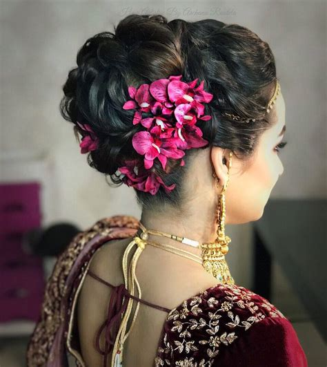 Hairstyles for Short Hair for Indian Wedding 25+
