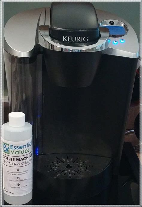 Pour ½ cup plain white vinegar and ½ cup cold water into the water reservoir. Descaling Solution For Keurig, Delonghi, Nespresso Best ...