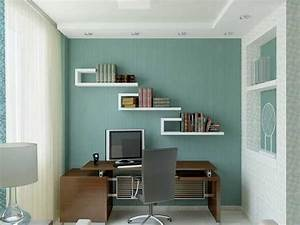 Small home office design ideas home office paint color for Office room decor ideas