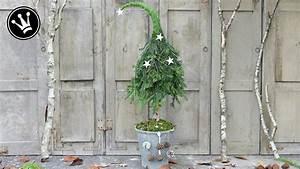 Winterdeko Selber Machen : diy winterdeko selber machen tannenbaum mit zipfelm tze aus naturmaterial i howto tutorial ~ Whattoseeinmadrid.com Haus und Dekorationen