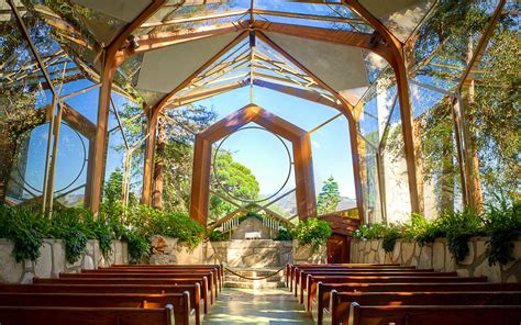 Wayfarers Chapel Best Beach Wedding Location Los