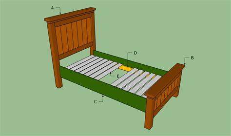 build a bed bed frame plans bed plans diy blueprints