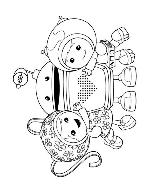 Coloring Umizoomi by Umizoomi Coloring Pages Free Printable Umizoomi Coloring