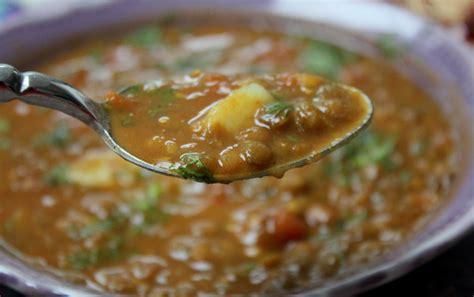 cuisine lentilles chorba aux lentilles cuisine algérienne cuisine tunisienne