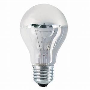 Ampoule E27 100w : ampoule incandescence standard e27 40w calotte argent e ~ Edinachiropracticcenter.com Idées de Décoration