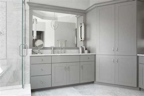 Bathroom Shaker Cabinets by Gray Shaker Bathroom Cabinets
