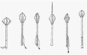 Medieval English Maces Photograph by Granger