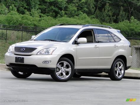 metallic lexus 2007 savannah beige metallic lexus rx 350 93565910 photo