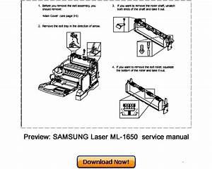 Samsung Ml-1650 Ml-1651n Service Repair Manual Download