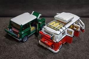 Lego Mini Cooper : lego mini cooper and vw camper van flickr photo sharing ~ Melissatoandfro.com Idées de Décoration