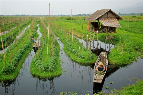 Floating Boat Garden Design by Inle Lake Myanmar A Unique Way Of Living Huffpost