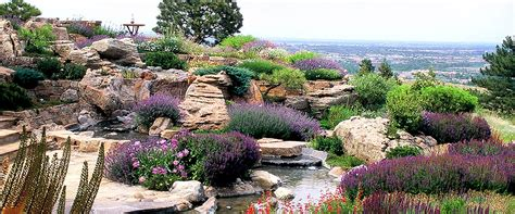 high end luxury garden design build mountain xeriscape