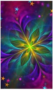Download wallpaper 1920x1200 fractal, flower, colorful ...