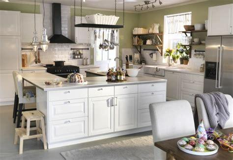 ikea table cuisine blanche îlot central cuisine ikea en 54 idées différentes et