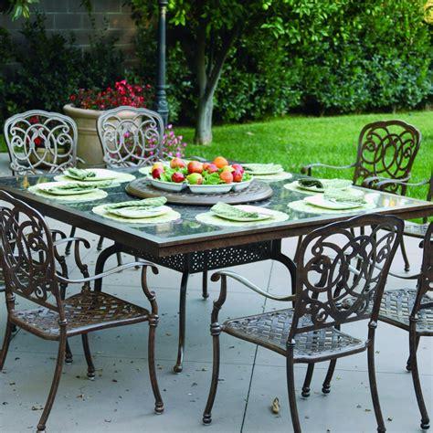 darlee florence 9 cast aluminum patio dining set