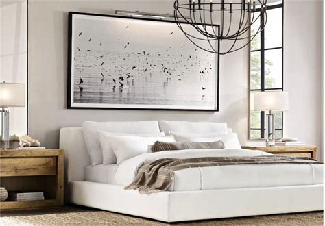 Restoration Hardware Modern Bedroom Design.