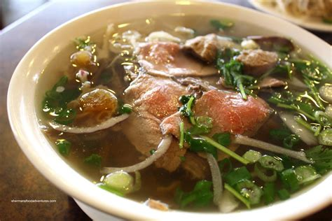 pho cuisine sherman 39 s food adventures saigon pho to go deli