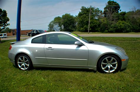 2004 Infiniti G35 Silver Sport Coupe Used Car Sale