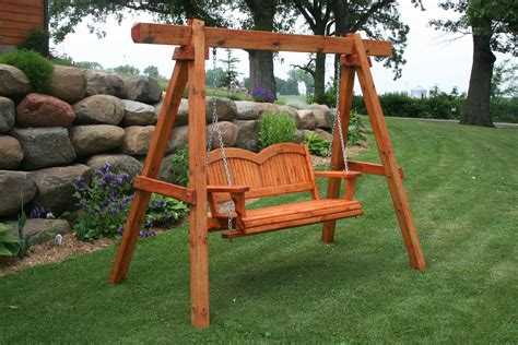 Wood Porch Swing Frame Sets