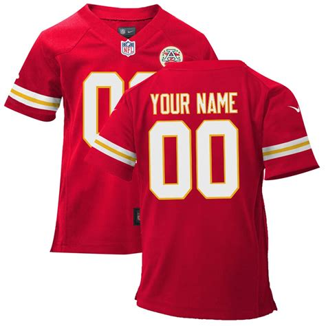 Following that season, for the good of the league, the team was moved to kansas city and became the chiefs. Nike Toddler Kansas City Chiefs Customized Team Color Game ...
