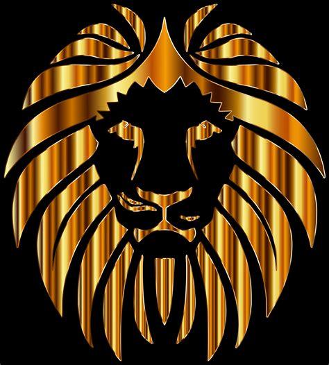 Clipart - Golden Lion 10