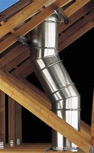 Conduit Cheminée Inox : support plancher ou charpente pour conduit inox galva 180 230 poujoulat conduit de fum e inox ~ Preciouscoupons.com Idées de Décoration