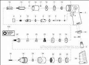 Chicago Pneumatic Cp9790 Parts List And Diagram