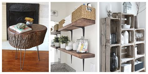 Home Decor Rustic And Refined Home: 21 DIY Rustic Home Decor Ideas