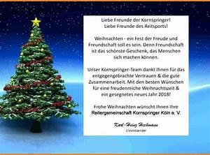 Spanische Weihnachtsgrüße An Freunde : reitverein kornspringer ihr reitstall in k ln f r ~ Haus.voiturepedia.club Haus und Dekorationen