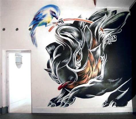 Graffitis con dibujo