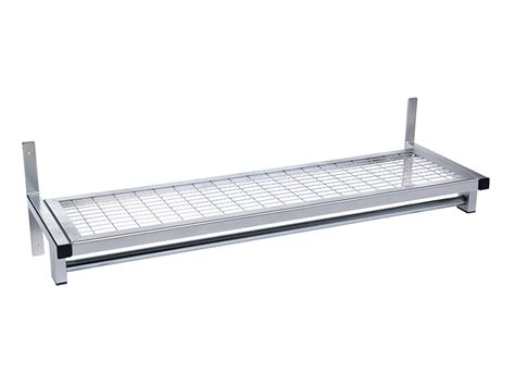 mesh changing room shelves benchura