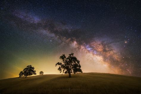 California Milky Way Night Sky And Astrophotography